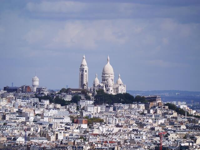 ルミエールアキ:フランス・パリ・サクレクール寺院・フランス語