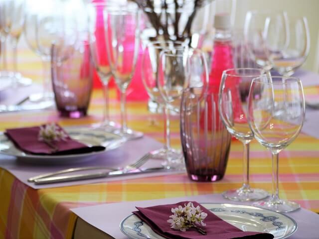 ルミエールアキ:お花見ワインパーティー