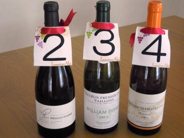 ルミエールアキ:フランスワイン、白、イベント