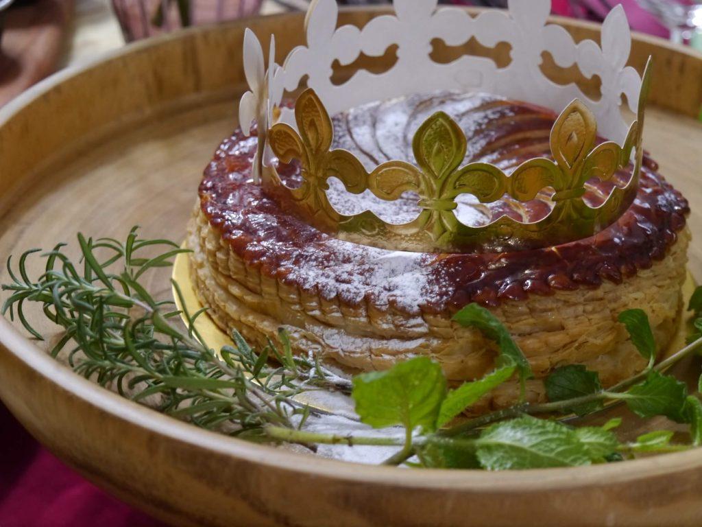 ガレット・デ・ロワ、フランス、エルメス、食器、テーブルセッティング