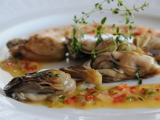 ルミエールアキ:フランス料理・牡蠣