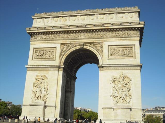 ルミエールアキ:フランス・パリ・凱旋門・旅行