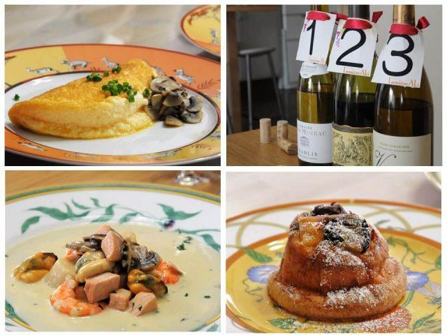ルミエールアキ:フランス料理・ノルマンディー地方・ブルターニュ地方